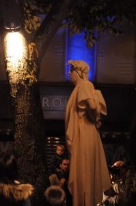 statue vivante romain