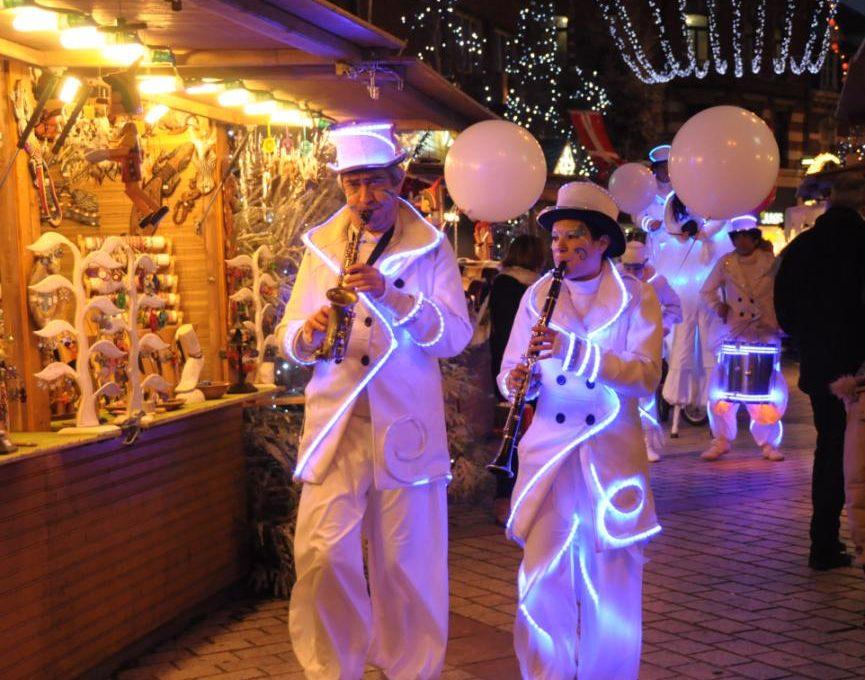 parade lumineuse  Noël