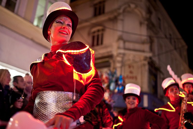 parade lumineuse