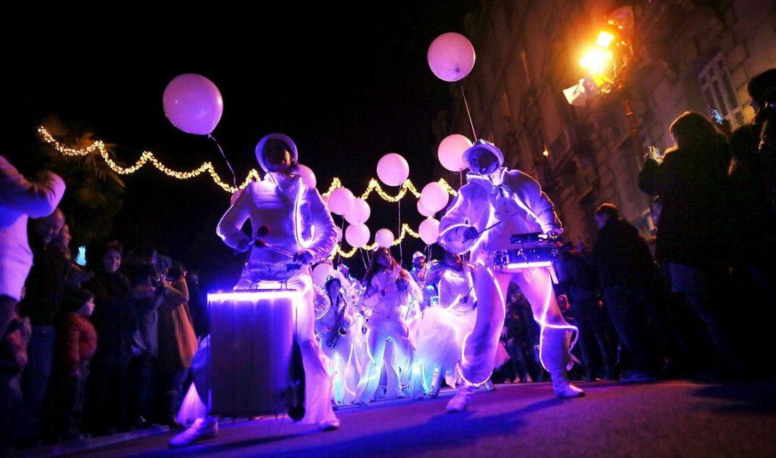 parade lumineuse musique